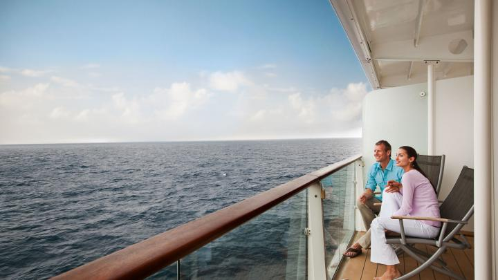 Deluxe Ocean View Stateroom with Balcony – 2D / 2C / 2B / 2A