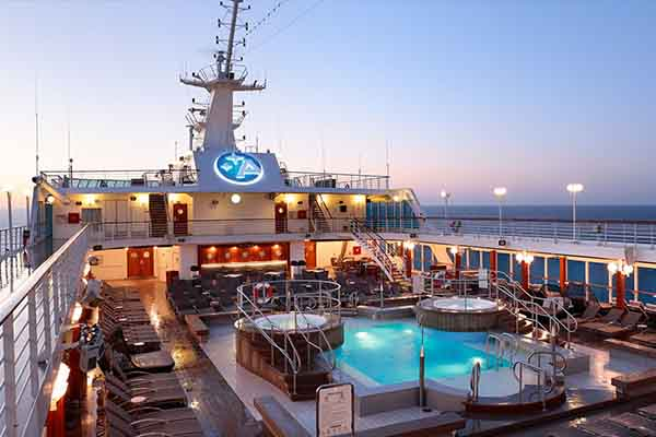Pool Deck on Azamara Pursuit