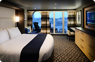 Junior Suite with Large Balcony