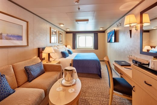 Ocean View Stateroom (Obstructed View) – [FA]