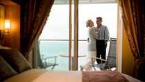 Deluxe Oceanview Stateroom with Veranda (Obstructed View) – [2D]