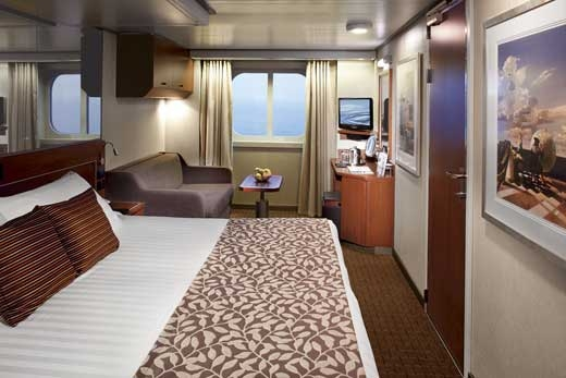 Large Ocean view Stateroom – [E]