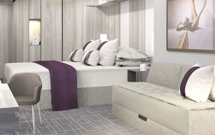 Deluxe Inside Stateroom – [10]