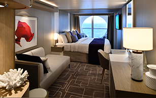 Deluxe Ocean View Stateroom with Veranda – [1A]