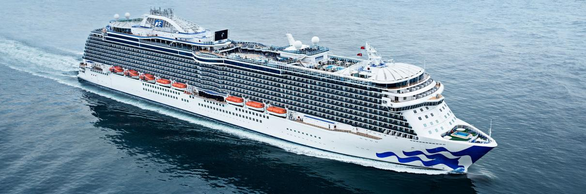Grand Princess Replaced By Regal Princess For 2021