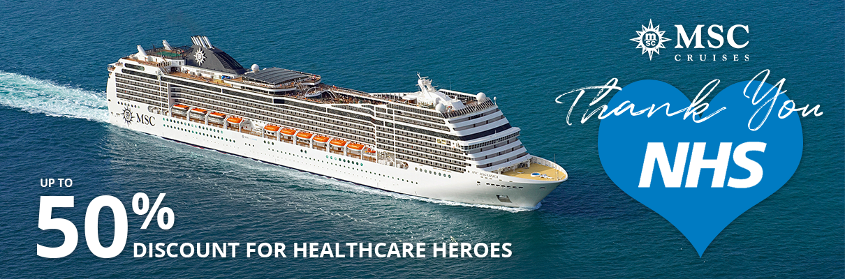 MSC Thanks NHS Workers with 50% Discount