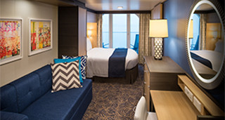 Obstructed Balcony Stateroom – Guaranteed – [X]