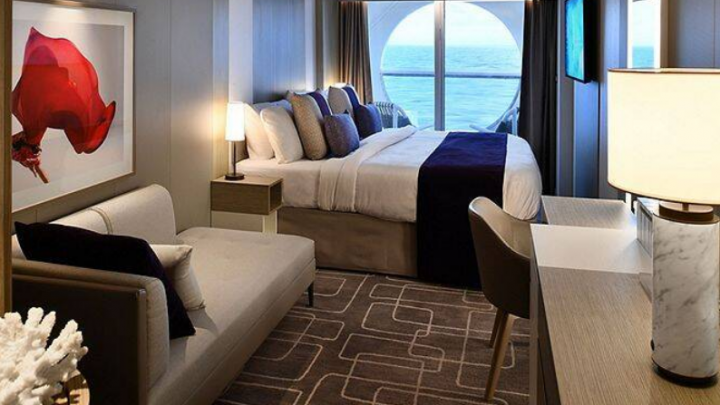 Deluxe Ocean View Stateroom with Veranda – [2A]