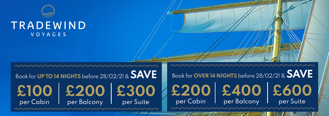 Tradewind Voyages Cruise Offers