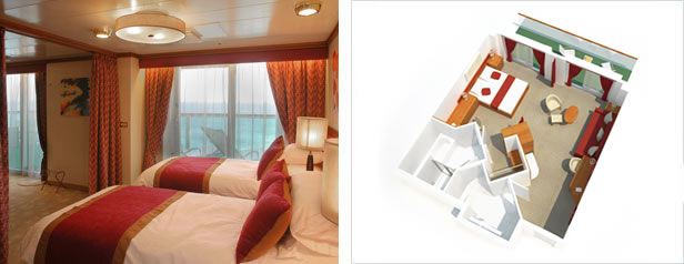 Suite with Balcony – [AB]