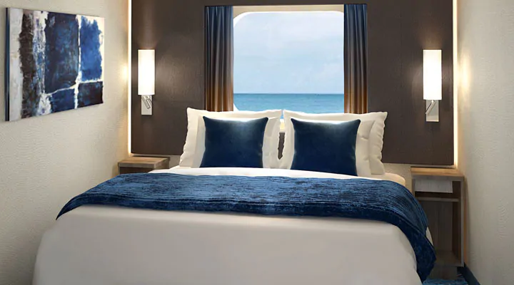 Oceanview with Picture Window – [OB]