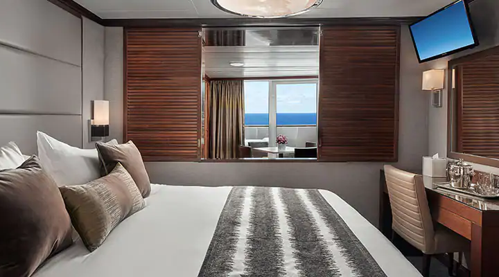 Owner's Suite with Large Balcony – [SB]