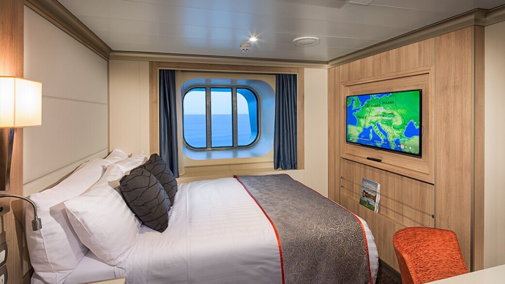 Large Ocean View Stateroom – [D]