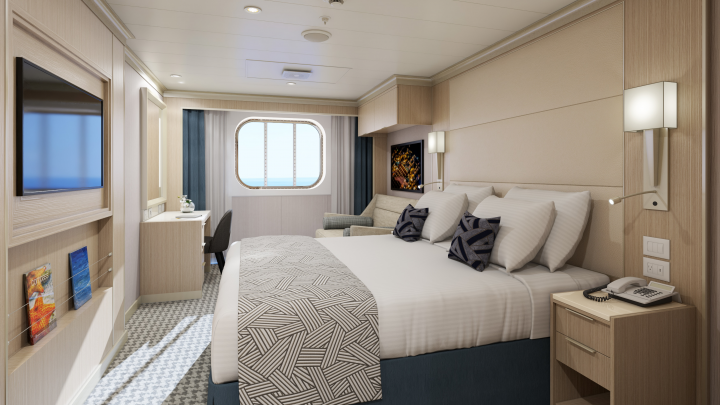 Family Ocean View Stateroom – [FA]
