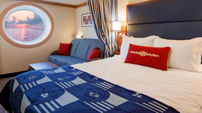 Deluxe Oceanview Stateroom – [09A]