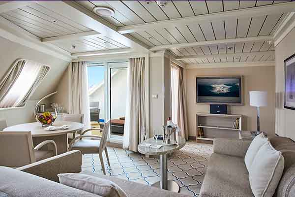 The Royal Suite on Silver Cloud